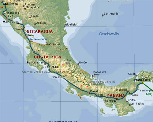 central america and nicaragua most nicaraguans